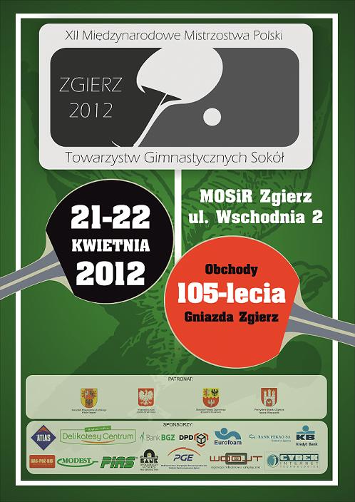 """Zaproszenie na XII Międzynarodowe Mistrzostwa Polski Towarzystw Gimnastycznych """"Sokół""""!"""