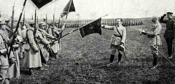 Błękitna Armia 14 lipca 1918