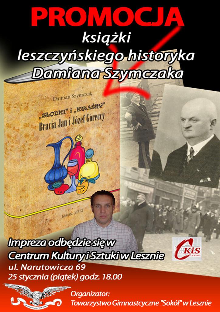 Spotkanie z autorem książki o leszczyńskich Sokołach!