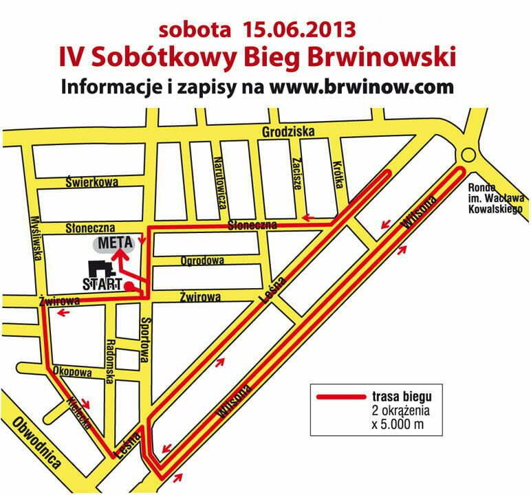 IV Sobótkowy Bieg Uliczny w Brwinowie