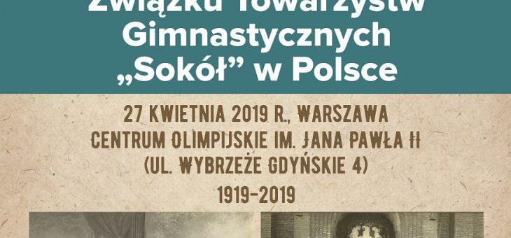 """100-lecie Związku Towarzystw Gimnastycznych """"Sokół"""" w Polsce"""